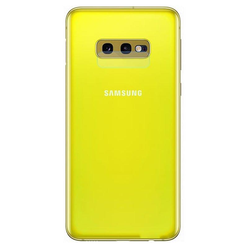 محافظ لنز دوربین گوشی Samsung Galaxy S10 E مدل شیشه ای Ultra Pixel