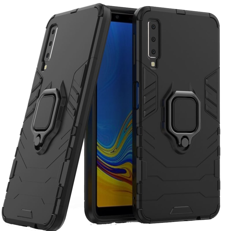 قاب اورجینال گوشی Samsung Galaxy A750 مدل آرمور به همراه هولدر مگنتی طرح بتمن