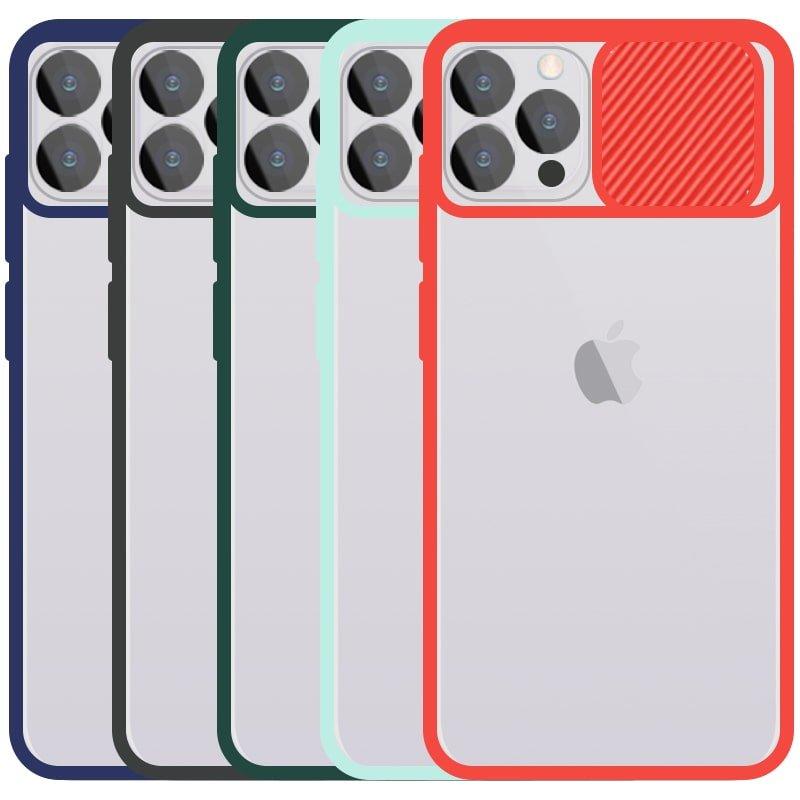 قاب محافظ مناسب برای گوشی IPHONE 12 Pro Max مدل ماکرو شیلد محافظ لنزدار طرح پشت مات