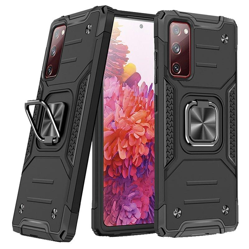 قاب اورجینال گوشی مناسب برای Samsung Galaxy S20 FE طرح دیفندر آرمور به همراه رینگ استند مگنتی مدل Ranger Phone