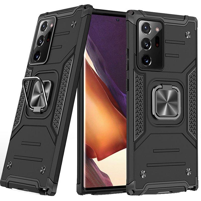 قاب اورجینال گوشی مناسب برای Samsung Galaxy Note 20 Ultra طرح دیفندر آرمور به همراه رینگ استند مگنتی مدل Ranger Phone