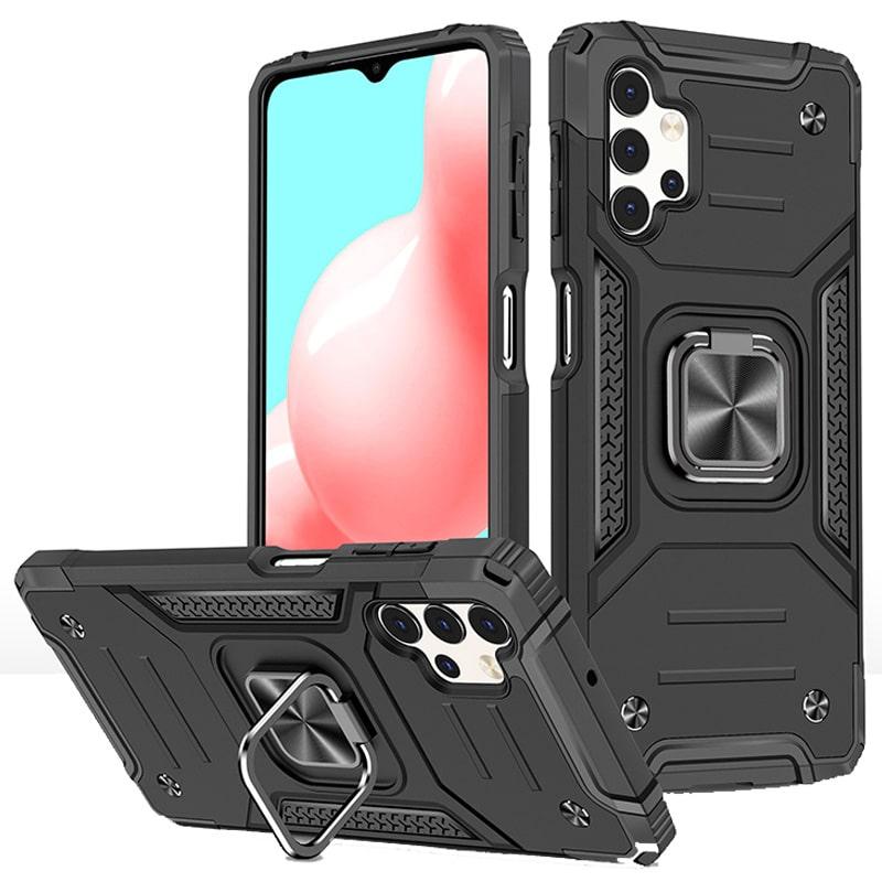 قاب اورجینال گوشی مناسب برای Samsung Galaxy A32 5G طرح دیفندر آرمور به همراه رینگ استند مگنتی مدل Ranger Phone