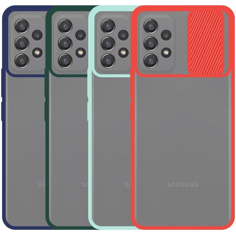 قاب محافظ مناسب برای گوشی Samsung Galaxy A52 5G مدل ماکرو شیلد محافظ لنزدار طرح پشت مات