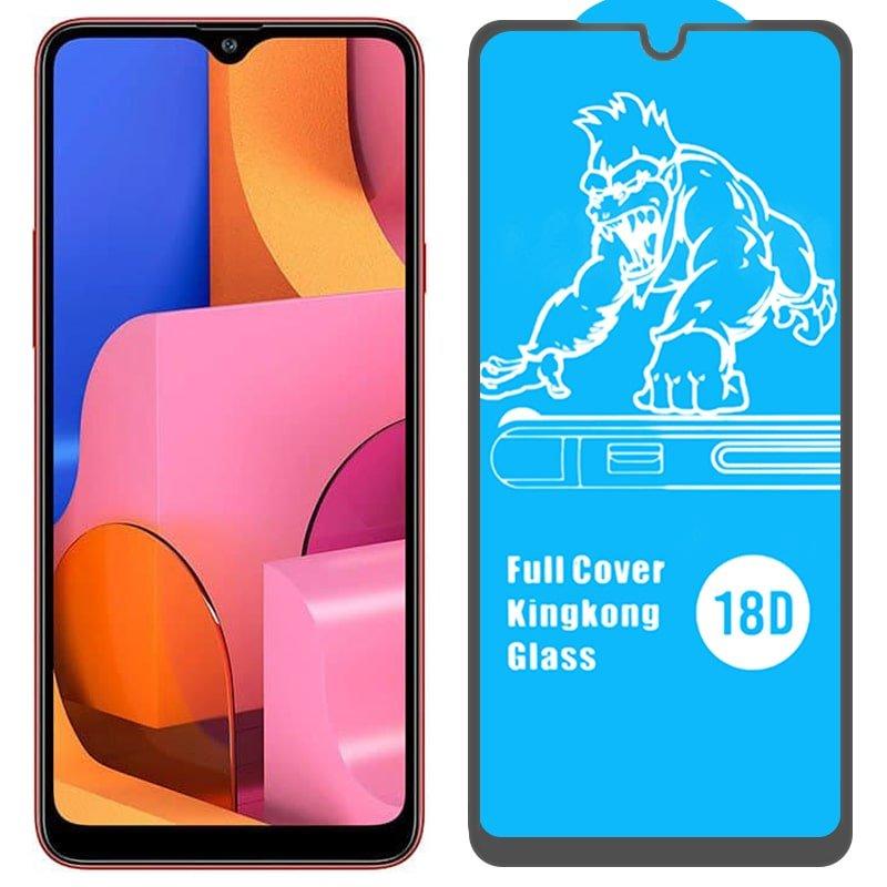 گلس ایربگ دار محافظ صفحه نمایش مناسب برای گوشی Samsung Galaxy A20S مدل King Kong از برند آرمور گلس