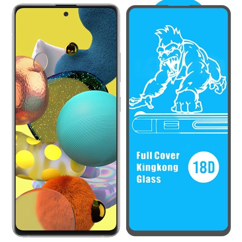 گلس ایربگ دار محافظ صفحه نمایش مناسب برای گوشی Samsung Galaxy A51 مدل King Kong از برند آرمور گلس