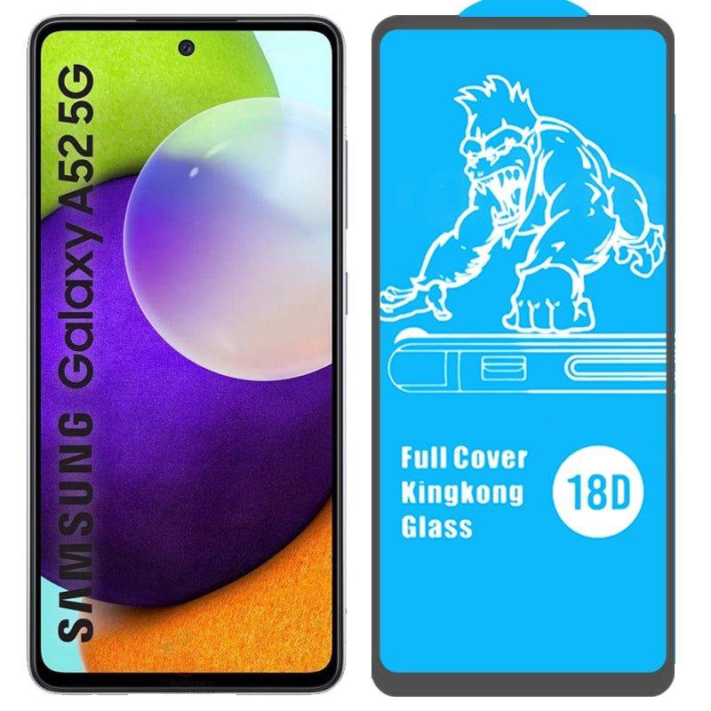 گلس ایربگ دار محافظ صفحه نمایش مناسب برای گوشی Samsung Galaxy A52 4G / 5G مدل King Kong از برند آرمور گلس