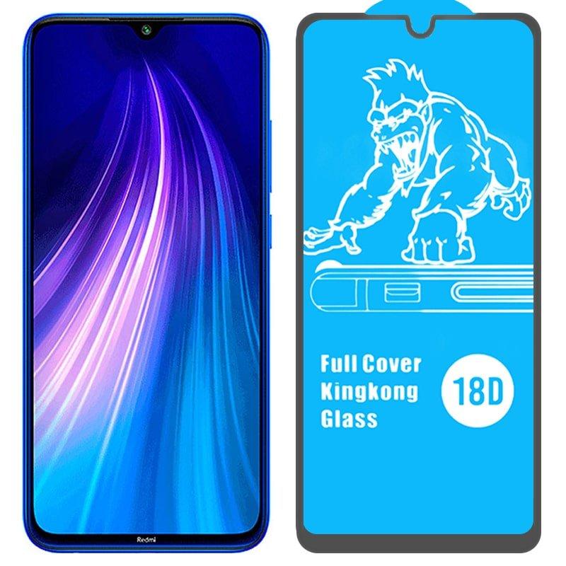 گلس ایربگ دار محافظ صفحه نمایش مناسب برای گوشی Xiaomi Redmi Note 8 مدل King Kong از برند آرمور گلس