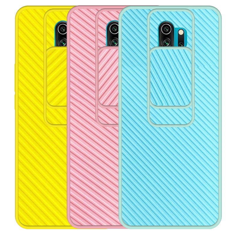 قاب و گارد محافظ مناسب برای گوشی Xiaomi Redmi Note 8 Pro مدل اسلاید کمرا طرح رنگی کشویی