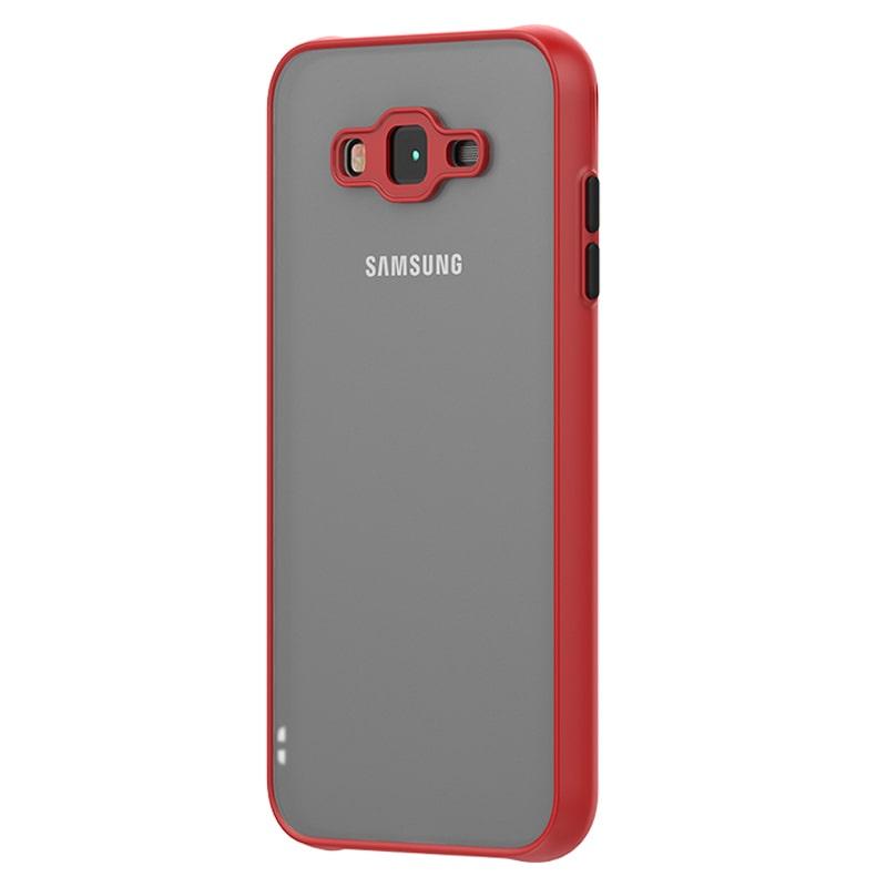 کاور گوشی Samsung Galaxy J7 هیبریدی مدل پشت مات محافظ لنزدار