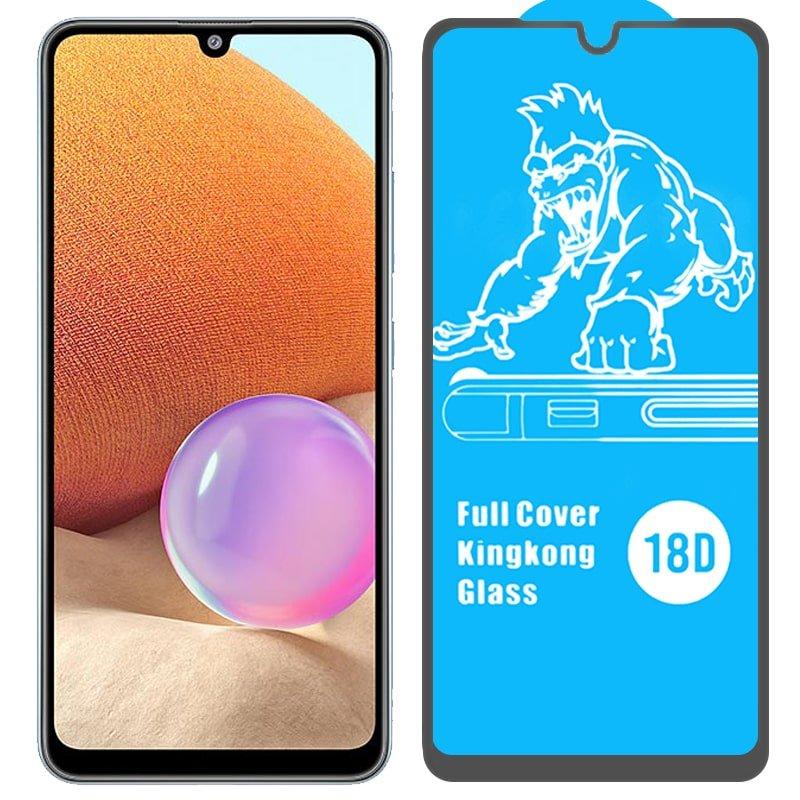 گلس ایربگ دار محافظ صفحه نمایش مناسب برای گوشی Samsung Galaxy A32 4G مدل King Kong از برند آرمور گلس