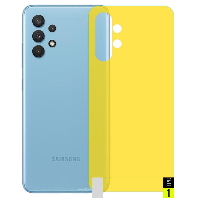 برچسب نانو پشت گوشی Samsung Galaxy A32 5G مدل فول کاور شفاف آنتی شوک