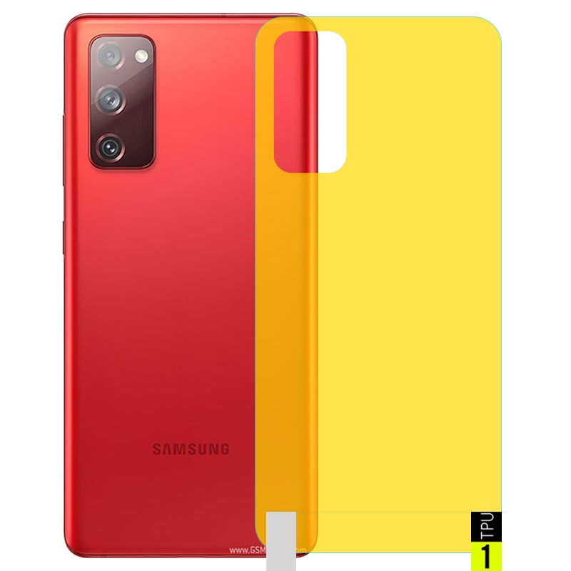 برچسب نانو پشت گوشی Samsung Galaxy S20 FE مدل فول کاور شفاف آنتی شوک