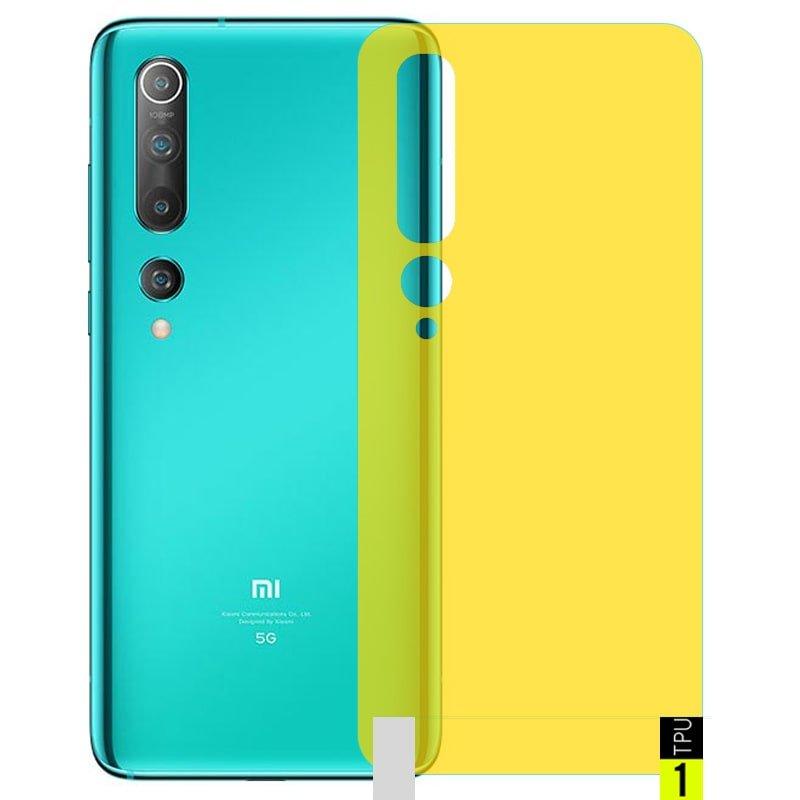 برچسب نانو پشت گوشی Xiaomi MI 10 5G مدل فول کاور شفاف آنتی شوک