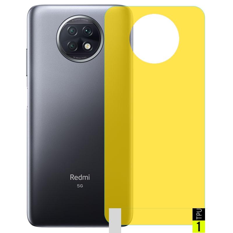 برچسب نانو پشت گوشی Xiaomi Redmi Note 9T 5G مدل فول کاور شفاف آنتی شوک