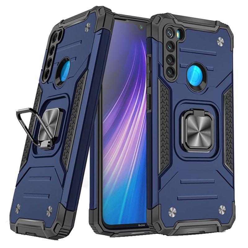 قاب اورجینال گوشی مناسب برای Xiaomi Redmi Note 8 طرح دیفندر آرمور به همراه رینگ استند مگنتی مدل Ranger Phone