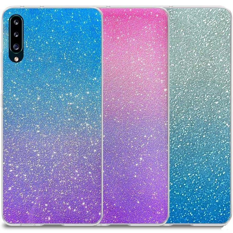 قاب اکلیلی ستاره ای مناسب برای گوشی Samsung Galaxy A50 / A50S / A30S مدل براق  ژله ای دخترانه و زنانه شاین (رنگ ثابت)
