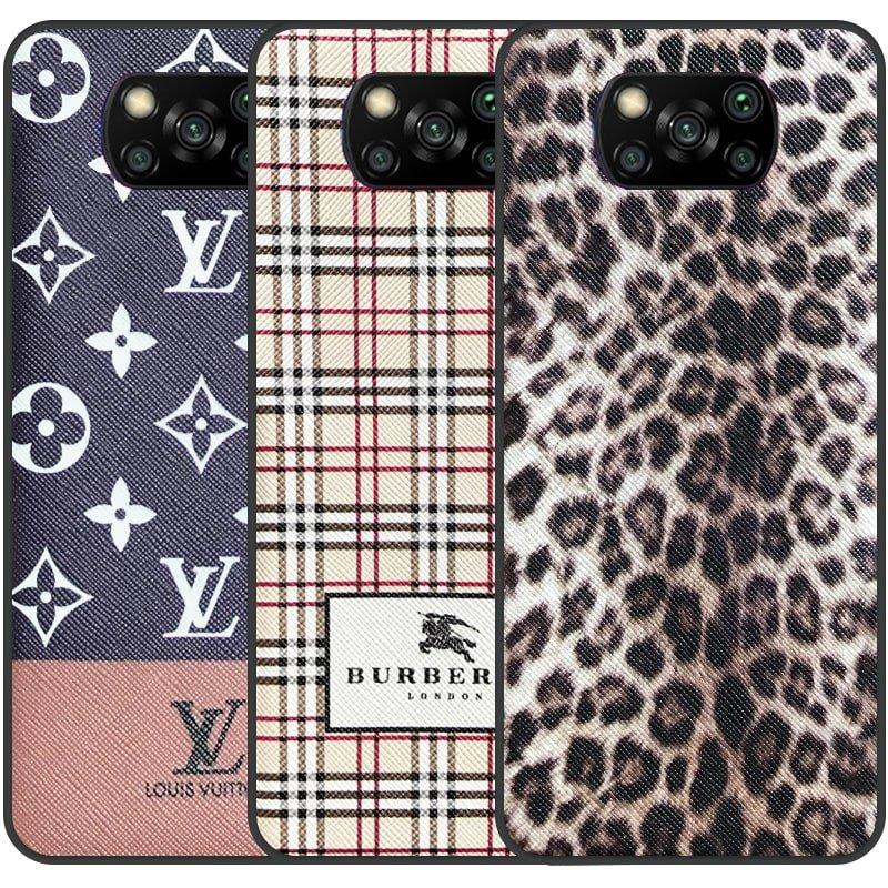 قاب چرم Luxury دیزاین مناسب برای گوشی Xiaomi POCO X3 nfc / pro مدل طرحدار لاکچری زنانه و مردانه