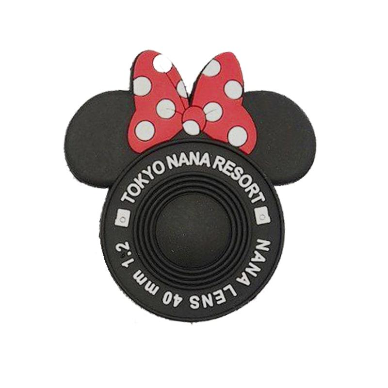 پاپ سوکت سیلیکونی سه بعدی مدل میکی موس با چسب مخصوص  3D Pop Socket Silicone Mickey Mouse