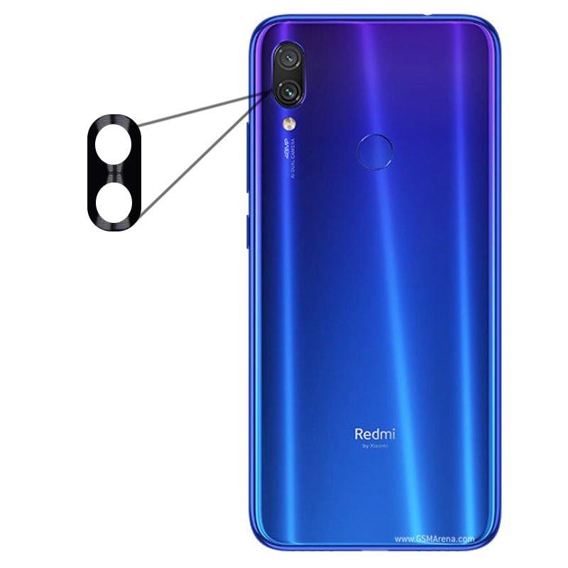 محافظ لنز فلزی برای دوربین Xiaomi Redmi Note 7 مدل آلومینیومی با ضخامت 0.5 میلیمتر Alloy Cap Lens Camera