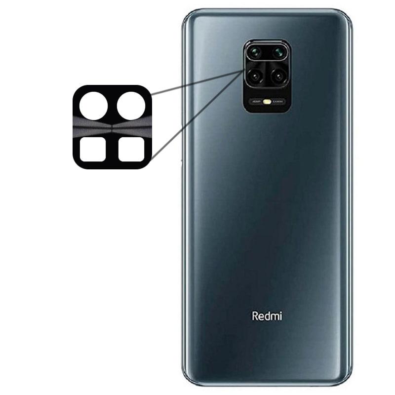 محافظ لنز فلزی برای دوربین Xiaomi Redmi Note 9S / 9 Pro مدل آلومینیومی با ضخامت 0.5 میلیمتر Alloy Cap Lens Camera