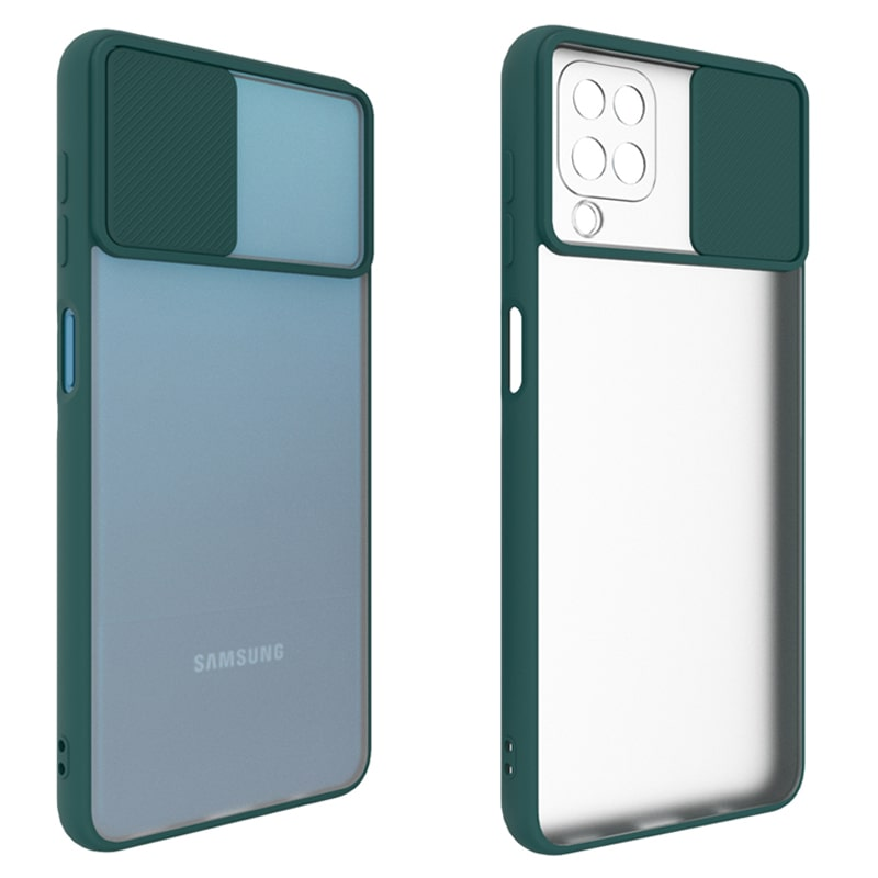 قاب محافظ مناسب برای گوشی Samsung Galaxy A42 مدل ماکرو شیلد محافظ لنزدار طرح پشت مات