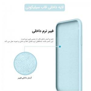 قاب SAMSUNG Galaxy A30s سیلیکونی پایین باز اورجینال برند سامسونگ