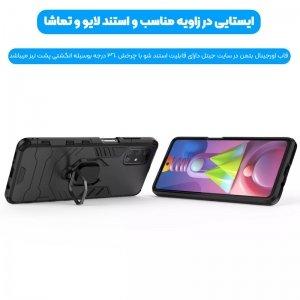 قاب اورجینال گوشی Samsung Galaxy A51 مدل آرمور به همراه هولدر مگنتی طرح بتمن