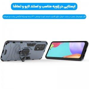 قاب اورجینال گوشی Samsung Galaxy A52 مدل آرمور به همراه هولدر مگنتی طرح بتمن