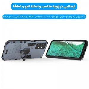 قاب اورجینال گوشی Samsung Galaxy A32 5G مدل آرمور به همراه هولدر مگنتی طرح بتمن.jpg