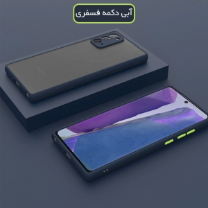 کاور گوشی Samsung Galaxy A32 5G هیبریدی مدل پشت مات محافظ لنزدار.jpg