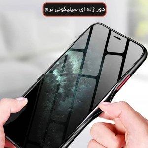 قاب گوشی طرحدار IPHONE 11 مدل پشت مات محافظ لنزدار سری آوان گارد