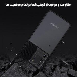 قاب محافظ مناسب برای گوشی Samsung Galaxy A70 / A70S مدل ماکرو شیلد محافظ لنزدار طرح پشت مات.jpg