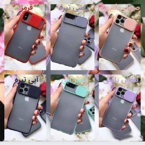 قاب محافظ مناسب برای گوشی IPHONE XS MAX مدل ماکرو شیلد محافظ لنزدار طرح پشت مات.jpg