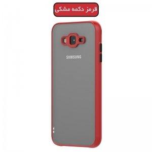 قاب محافظ برای گوشی سامسونگ گلکسی A12 مدل پشت مات دور رنگی به همراه محافظ لنز دوربین.jpg