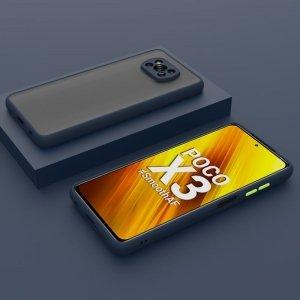کاور و قاب گوشی XIAOMI POCO X3 PRO مدل دور بامپر پشت مات محافظ لنزدار.jpg