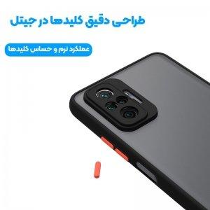 کاور و قاب گوشی XIAOMI Redmi Note 10 Pro مدل دور بامپر پشت مات محافظ لنزدار