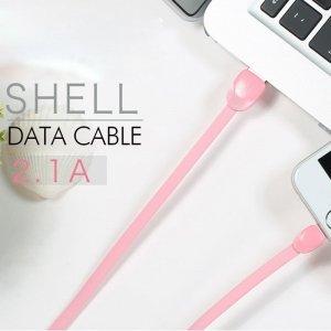 کابل شارژ اورجینال آندرویدی Micro USB مدل SHELL از برند ریمکس Remax Cable RC-040m.jpg