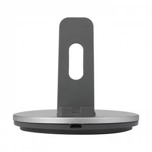 شارژر رومیزی و استند گوشی مناسب برای تمامی مدلهای آیفون با سوکت لایتنینگ TS 028-029