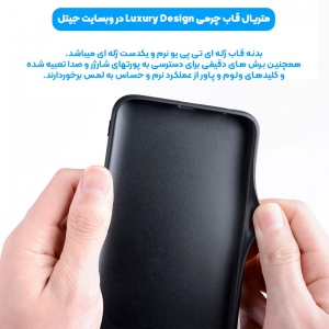 قاب چرم Luxury دیزاین مناسب برای گوشی Samsung Galaxy A70 / A70S مدل طرحدار لاکچری زنانه و مردانه (مجهز به محافظ لنز یکدست با بدنه).jpg