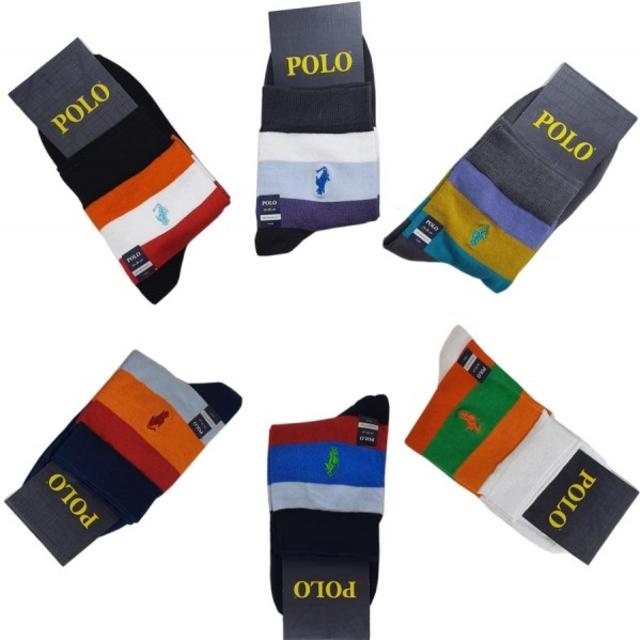 جوراب نیم ساق مردانه polo