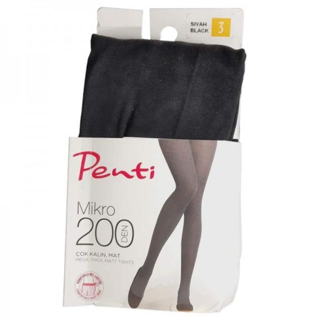 جوراب شلواری زنانه پنتی نخ200