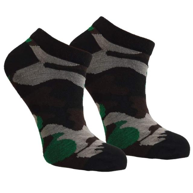 جوراب مچی چریکی سبز طوسی