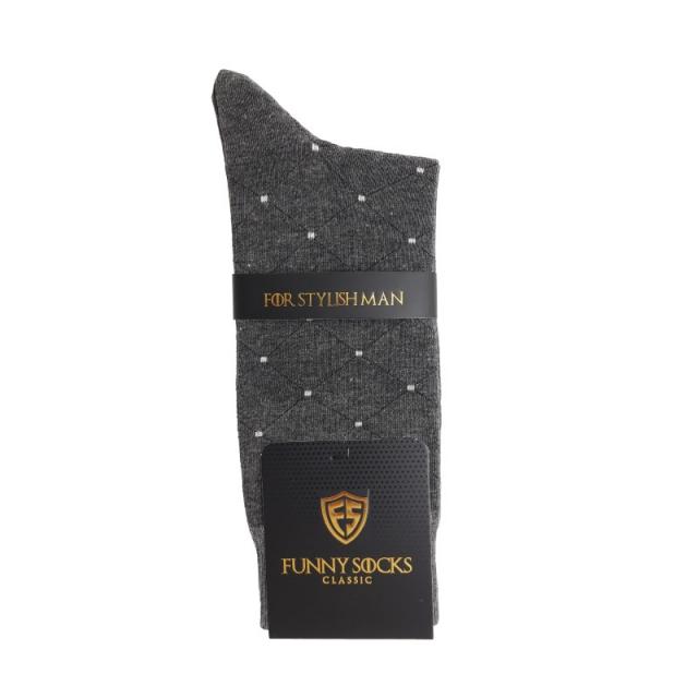 جوراب مردانه ساقدار نوکمدادی طرحدار