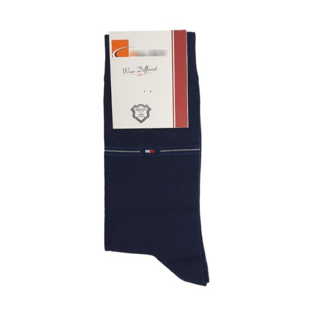 جوراب مردانه ساقدار سرمه ای طرح تامی