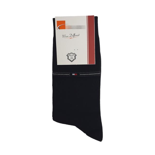 جوراب مردانه ساقدار مشکی طرح تامی