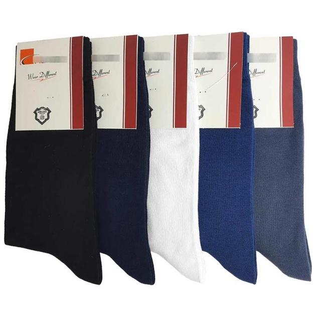 جوراب مردانه ساقدار ساده رنگبندی