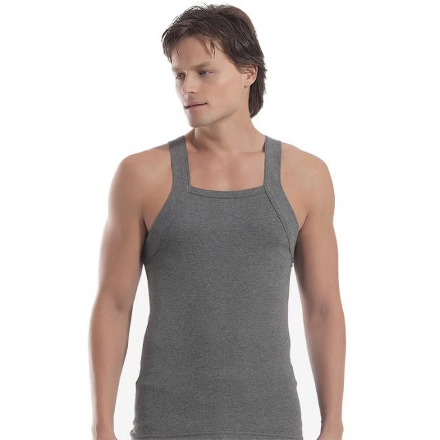 زیرپوش مردانه اوزتاش مدل خشتی زغالی