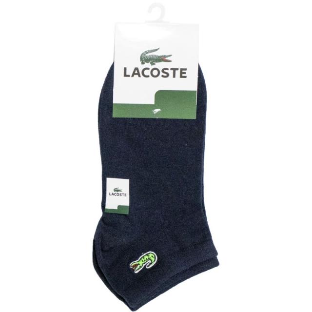 جوراب مچی سرمه ای طرح LACOSTE