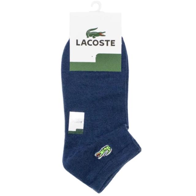 جوراب مچی سرمه ای روشن طرح LACOSTE