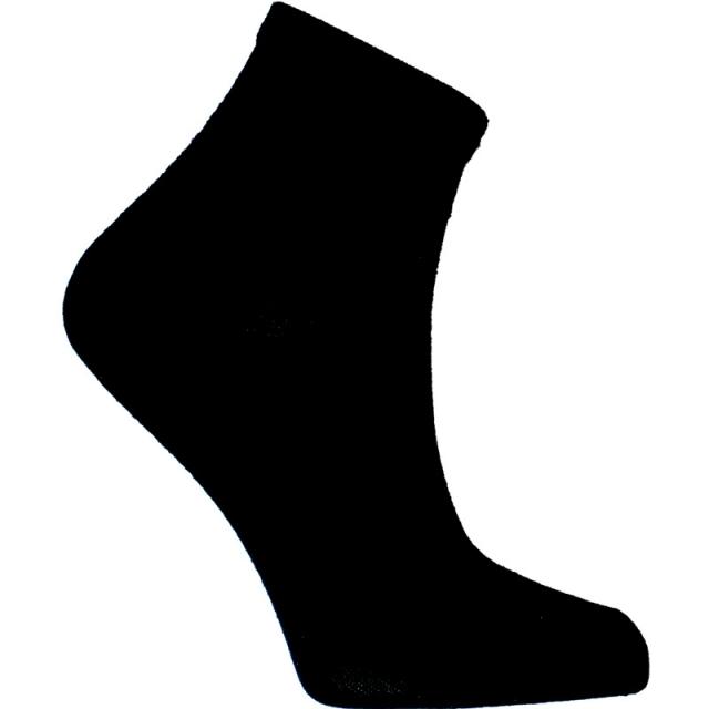جوراب نیم ساق مشکی
